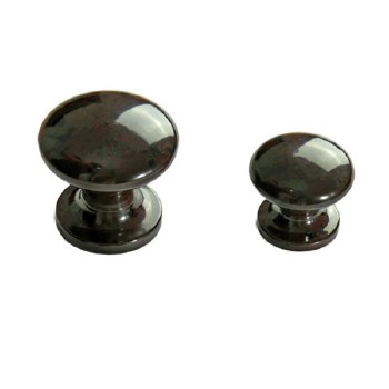 BROLITE 6219 Bakelite Cupboard Knob 39mm Walnut