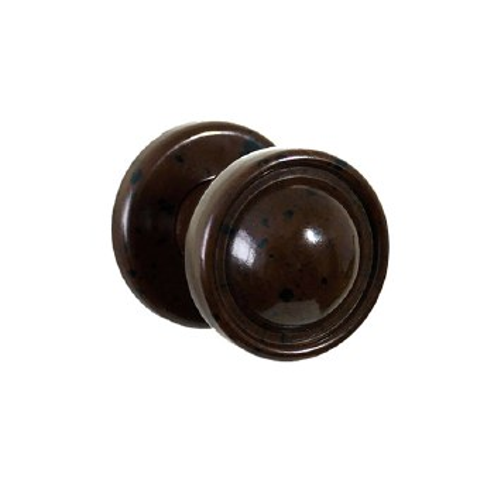 BROLITE 6310 Bakelite 35mm Cupboard Knob & Rose Walnut