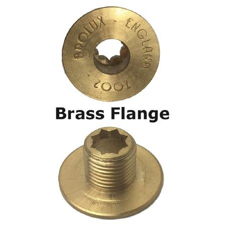 Brass Flange 7002 For Brolux Bakelite