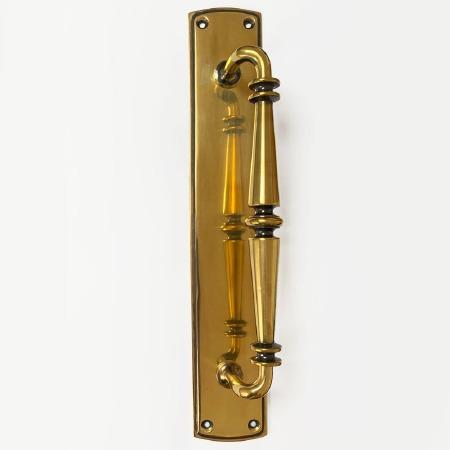 Door Pull Handle Decorative Renovated Brass