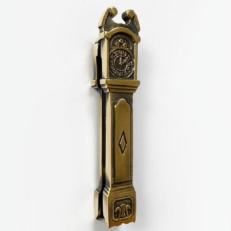 Clock Door Knocker Renovated Brass