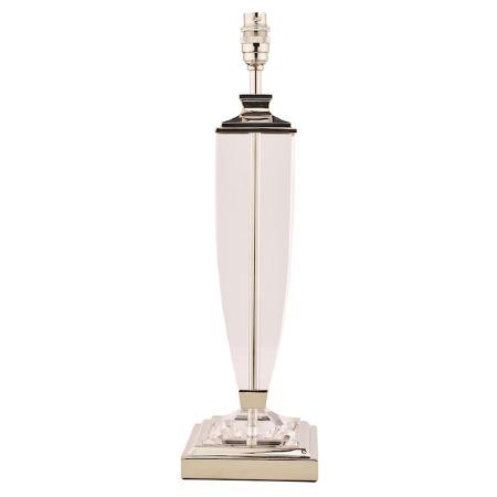 Laura Ashley Carson Table Lamp Base Extra Large Polished Nickel