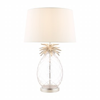 Laura Ashley Pineapple Table Lamp Large with Shade