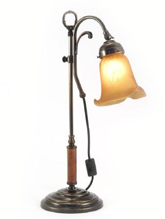 Adjustable Desk Wood Table Lamp