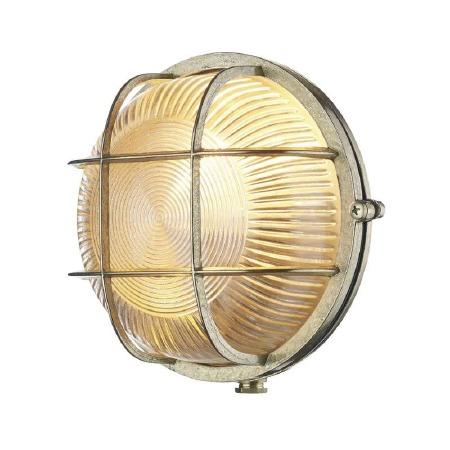 David Hunt ADM5040 Admiral Bulkhead Light Round Natural Brass IP64