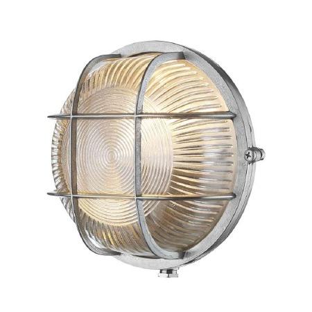 David Hunt ADM5038 Admiral Bulkhead Light Round Nickel IP64
