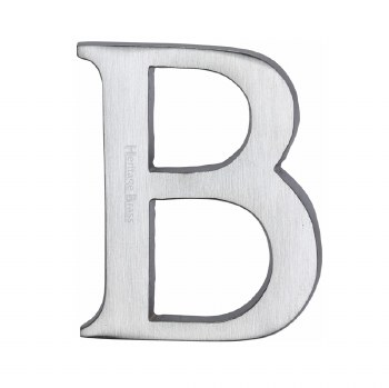 Heritage C1565 Letter B Satin Chrome