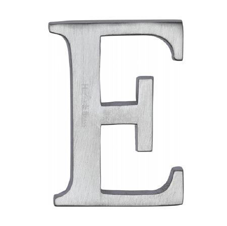 Heritage C1565 Letter E Satin Chrome