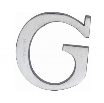Heritage C1565 Letter G Satin Chrome