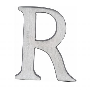 Heritage C1565 Letter R Satin Chrome