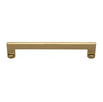 Heritage Apollo Pull Handle V4150 305 Medium Polished Brass