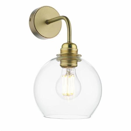 David Hunt APO0740 Apollo Wall Light Butter Brass