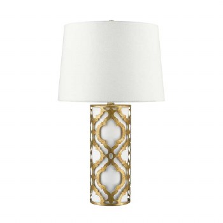 Gilded Nola Arabella Table Lamp