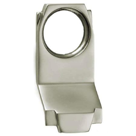 Croft Art Deco Cylinder Door Pull 7016 Polished Nickel