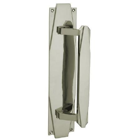 Croft 7010 Art Deco 305mm Pull Handle Polished Nickel