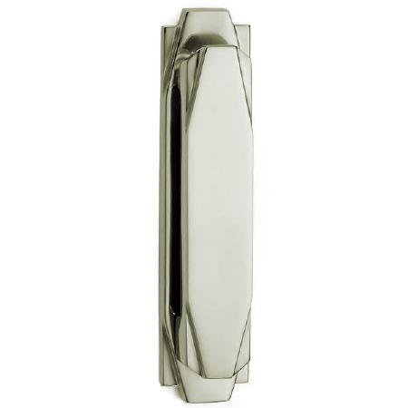 Croft Art Deco Door Knocker 7012 Polished Nickel