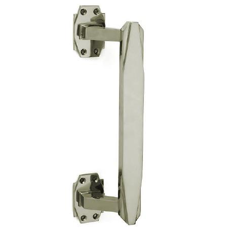 Croft 7009 300mm Art Deco Pull Handle Polished Nickel