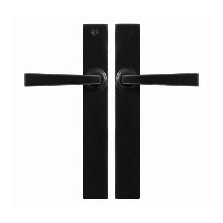 Stonebridge Arundel Multipoint Latch Door Handles Armor Coat Flat Black