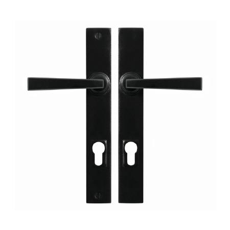 Stonebridge Arundel Multipoint Entry Lock Door Handles Armor Coat Flat Black