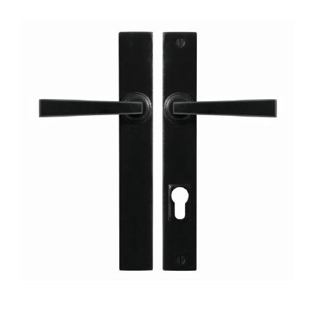 Stonebridge Arundel Multipoint Patio Door Handles Armor Coat Flat Black