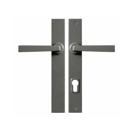 Stonebridge Arundel Multipoint Patio Door Handles Armor Coat Satin Steel