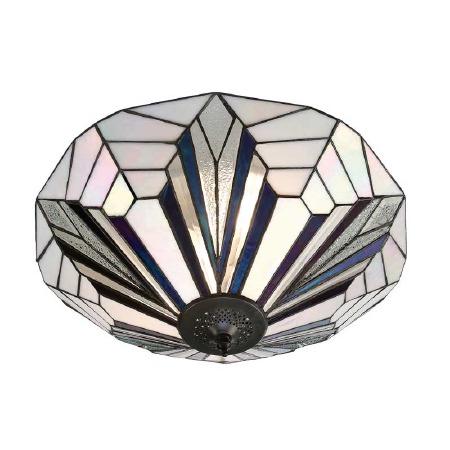 Interiors 1900 Astoria Tiffany Ceiling Light