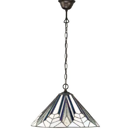 Interiors 1900 Astoria Tiffany Medium Ceiling Pendant Light