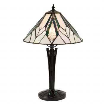 Interiors 1900 Astoria Tiffany Small Table Lamp 70365