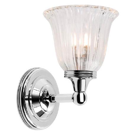 Elstead Ausden 1 Bathroom Light Polished Nickel