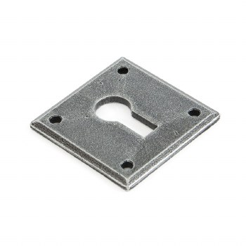 From The Anvil Avon Escutcheon Pewter Patine