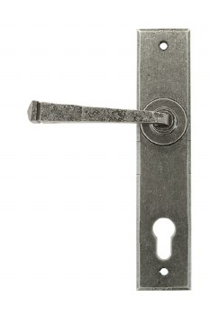 From The Anvil Avon Espag Door Handles Pewter
