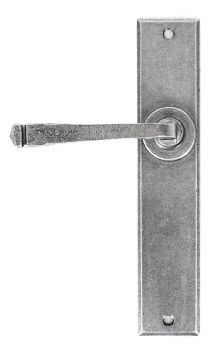 From The Anvil Avon Large Door Latch Handles Pewter