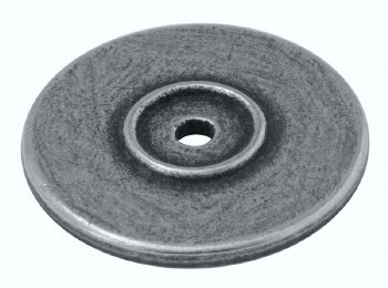 Genuine Pewter Back Plate For Cupboard Knobs PBP008