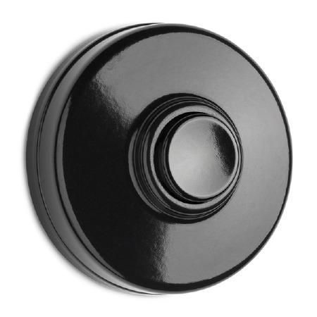 Bakelite Bell Push Black/White