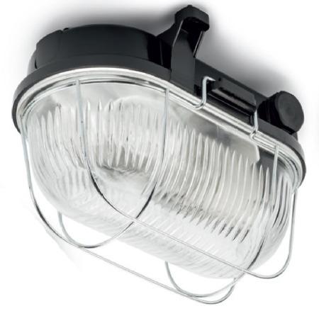 Bakelite Oval Bulkhead Light Large
