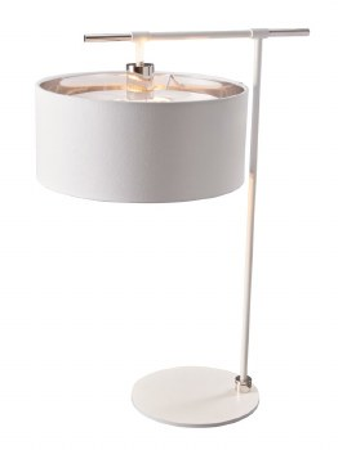 Elstead Balance Table Light White & Nickel