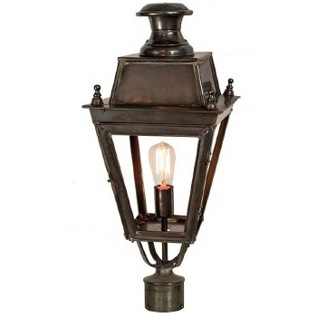 """Balmoral Lamp Post Head to suit 2"""" dia. Antique"""