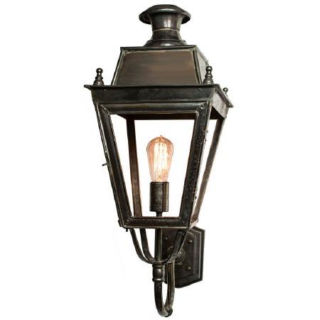 Balmoral Wall Lantern Antique Brass