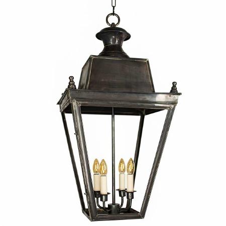 Balmoral Lantern Extra Large Antique Brass
