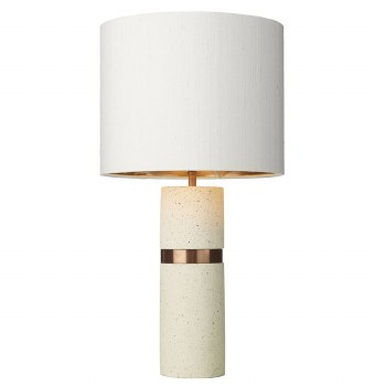 David Hunt BAN4334 Band Table Lamp Base Stone