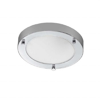 Bathroom Ceiling Light IP44 Chrome Small