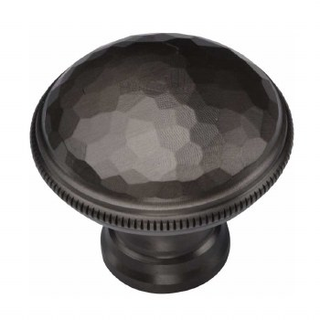 Heritage Beaten Cabinet Knob C4545 Matt Bronze
