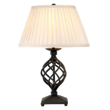 Elstead Belfry Table Lamp Black