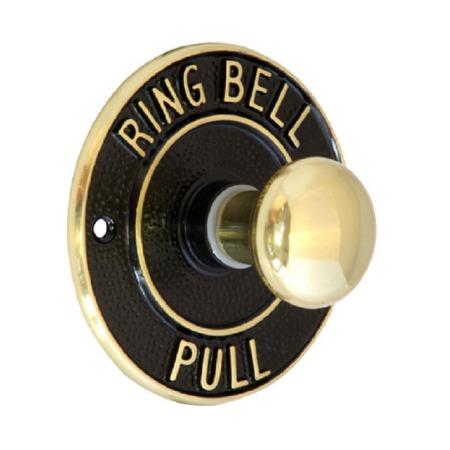 Bell Pull 1007 Mechanical Brass & Black