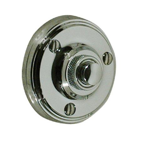 Victorian Constable 632 Door Bell Push Polished Nickel