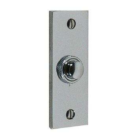 Brassart Constable 624 Door Bell Push Polished Chrome