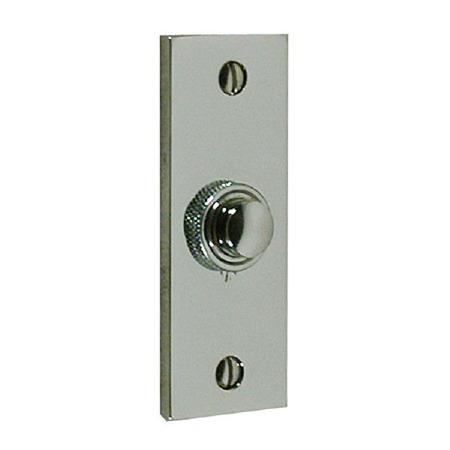 Brassart Constable 624 Door Bell Push Polished Nickel