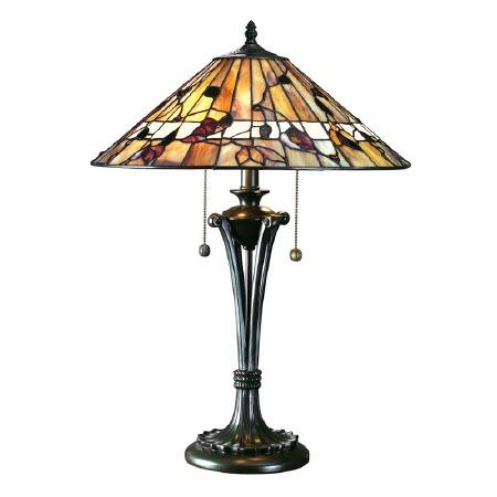 Interiors 1900 Bernwood Large Tiffany Table Lamp