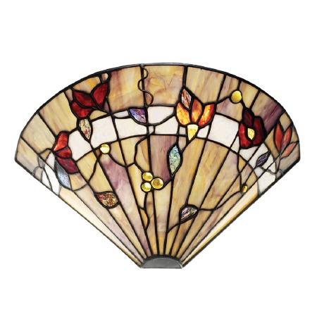 Interiors 1900 Bernwood Tiffany Wall Uplighter