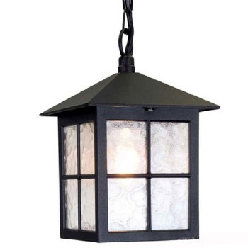 Elstead Winchester Porch Light Black
